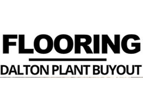 FLOORING Dalton Plant Buyout Largest Inventory In CSRA Liquidation Event Call