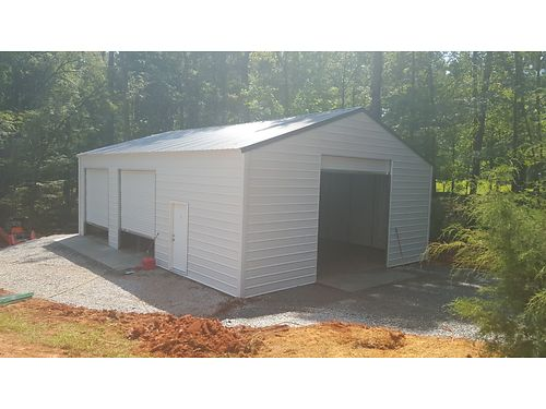 Turn Key Custom Built Factory Direct Pole Barns and Steel Garages Call Smiths Buildings  706-228-