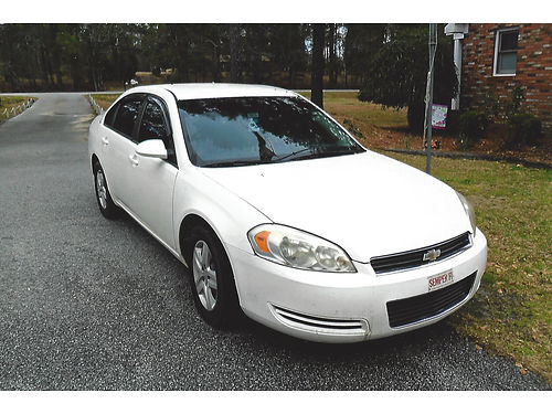 2008 CHEVY IMPALA white excellent condition new tires keyless loaded 3900 firm