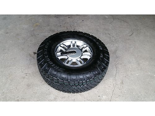 HUMMER H3 New Spare Tire  Mag Wheel never used Bridgestone Dueler AT 28575R16 Nice 225 Newp