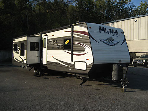 2016 PUMA 31RDKS 2 slides rear living air power awning very nice Must see RV7975 19995 VA
