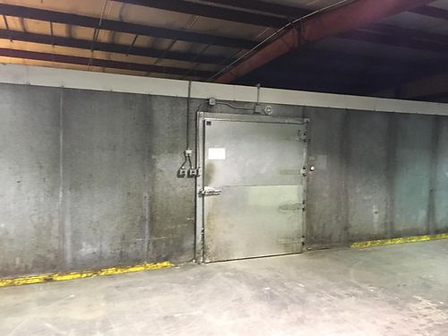 INDUSTRIAL FREEZER by Amerikooler 31x46 walk in cooler 2 unit freezer cost ab