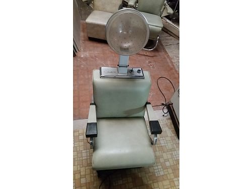 SALON DRYER CHAIR by Realistic Siesta III model hair dryer temperature and tim