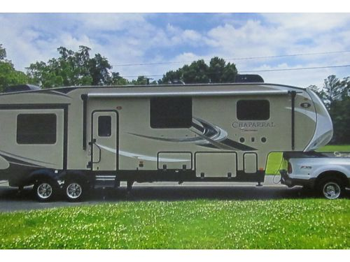 2018 COACHMEN CHAPARRAL 42 bunkhouse w4 slides 2 super slides 3 TVs e