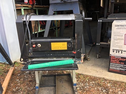 PLANER table top needs belt 50 more equipment available 423-956-0664