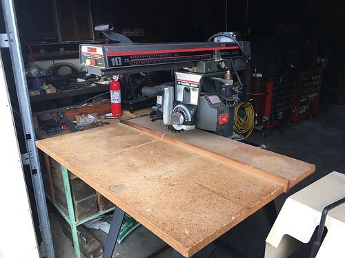 RADIAL ARM SAW 10 by Craftsman 150 more equipment available 423-956-0664