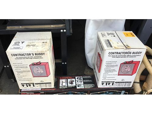 HEATERS Contractor Buddy 2 new in box 75 more equipment available 423-956-0664