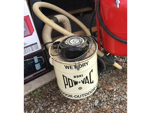 VACUUM Pow-R-Vac wet or dry indoor or outdoor 20 more equipment available 423-956-0664