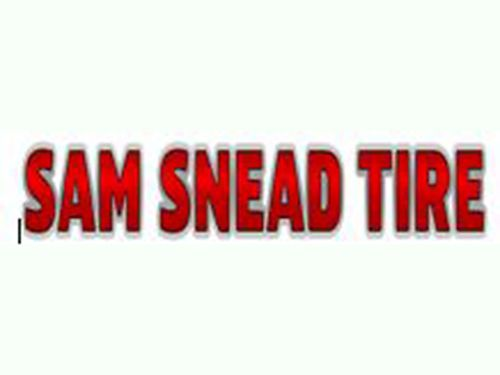 SAM SNEAD TIRE  SERVICE CENTER We Sell  Service ALL Major Tire Brands FULL MECHANICAL SERVICES Di