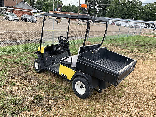 CUSHMAN CART Gas Engine Windshield Canopy Hour Meter Low Hours 1800 LOUISVILLE MS 662-803-0059