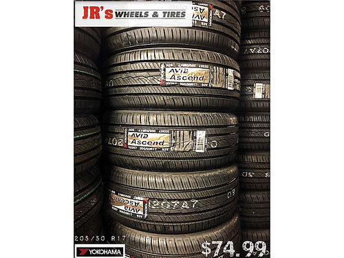 YOKOHAMA Tires on sale now 20550R17 7499 each limited time offer We have a variety of styles a