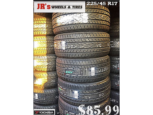 YOKOHAMA Tires on sale now 22545R17 8599 each limited time offer We have a variety of styles a
